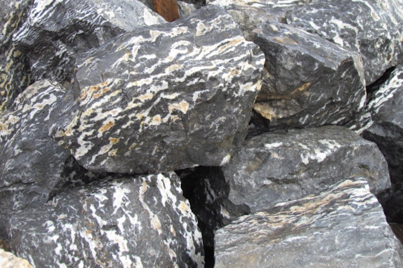 Zebra Marble T Rocks In Quartzsite